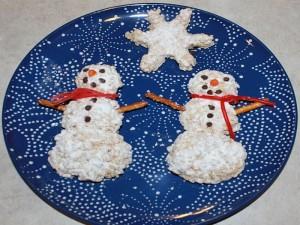 smaller snowmen snowflake picture