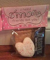 Valentine Ideas – Smores Packets & Flower Lollipops