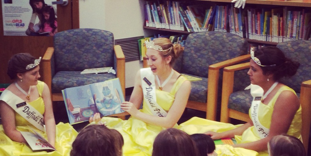 daffodil princess read with a princess event