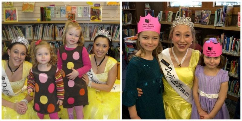 daffodil princess reading event