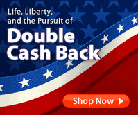 Ebates – Double Cash Back for President's Weekend + $150 Cash Giveaway