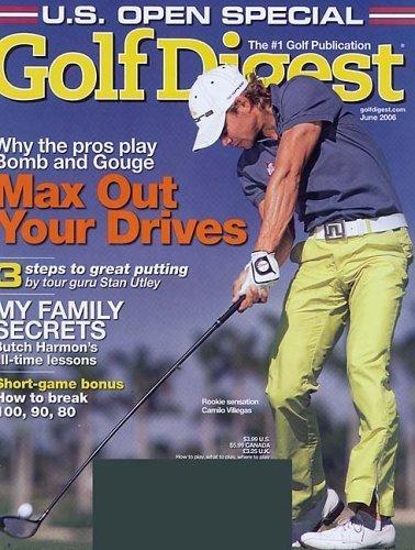 Golf Digest Magazine – $3.99 Year Subscription