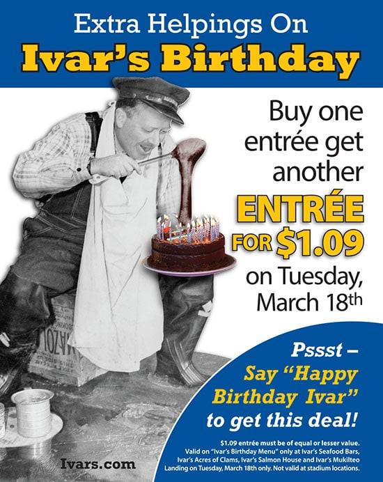 Ivars Birthday Celebration