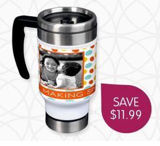 Ink Garden – Custom Travel Mug for $4.99 + Shipping