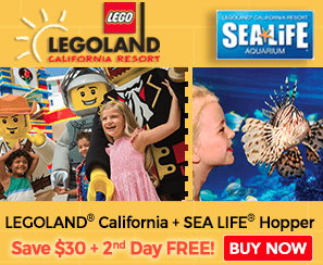Legoland California Deal