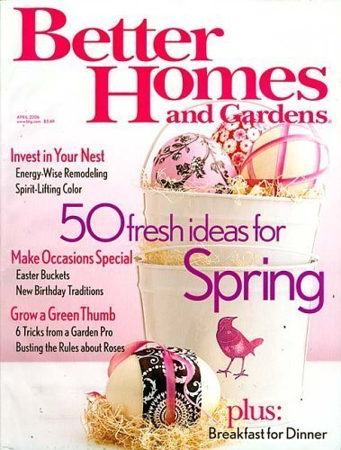 free magazine subscription to better homes and gardens magazine
