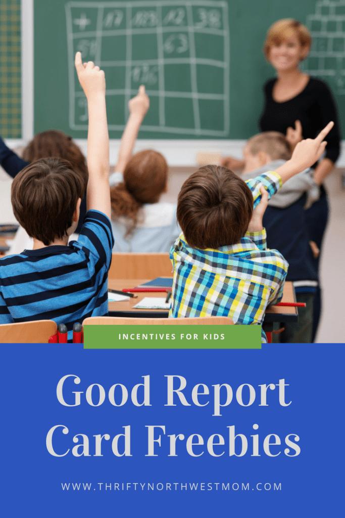Good Report Card Freebies