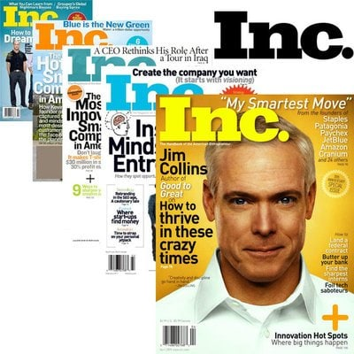 INC Magazine Subscription – One Year For $3.50
