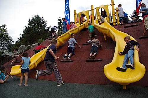 Park Review – Les Gove Playground & Spray Water Park (Auburn Wa.)