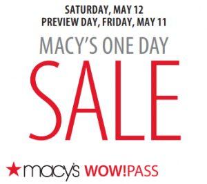 Macy's – $10 off $25 Printable Coupon
