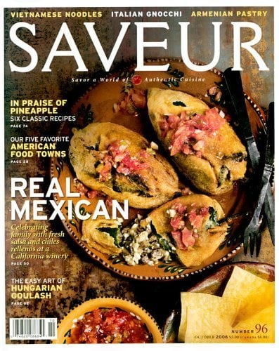 Saveur Magazine – $4.99 for Year Subscription