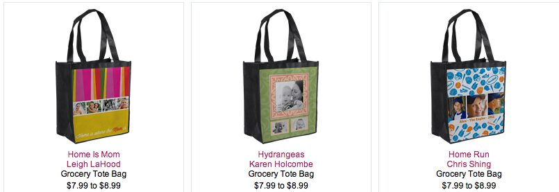 InkGarden – Personalized Reusable Grocery Tote Bag – Just $4.99 Shipped!