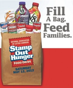 Stamp Out Hunger – Donate Non Perishable Items – Saturday May 12th