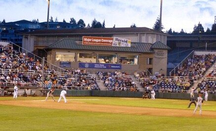 Everett Aquasox Tickets : Minor League Baseball  – 2 Tickets for $11