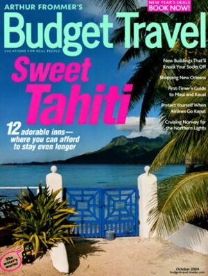Arthur Frommer's Budget Travel Magazine – $3.50 Year Subscription, Up to 3 Years