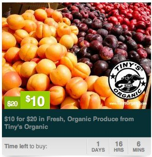 Organic Produce – Get $20 Worth For $10 (Multiple NW Locations!)