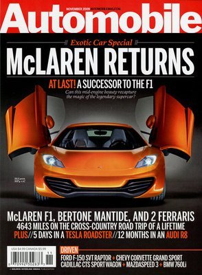 Automobile Magazine – $3.99 For A One Year Subscription