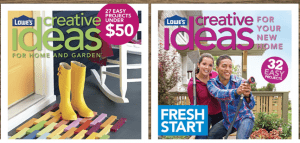 Lowes – Free Creative Ideas Magazine