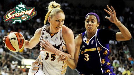 Seattle Storm Basketball Tickets – $16 (including fees)!
