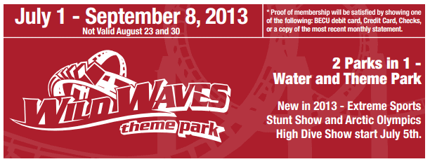 wild waves discount tickets 2013 safeway