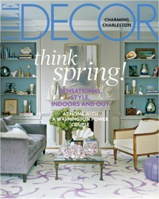 Elle Decor Magazine – $4.50 for a One Year Subscription!