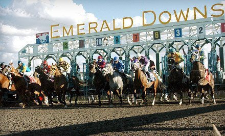 Emerald Downs On Groupon + Family Day Free Entertainment