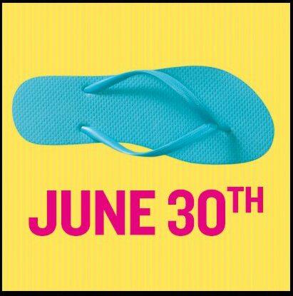 Old Navy $1 Flip Flop Sale – Saturday June 30th