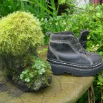 Recycling Old Shoes For Garden Art
