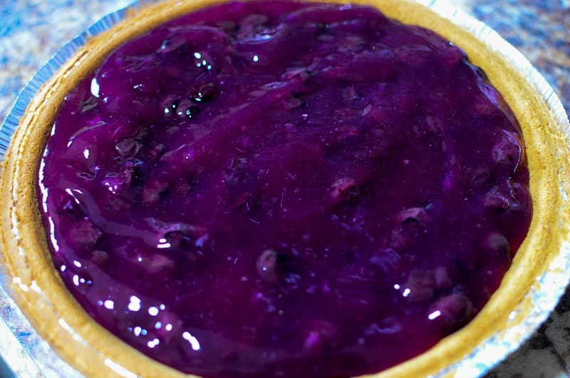 Easy Blueberry Pie Glaze
