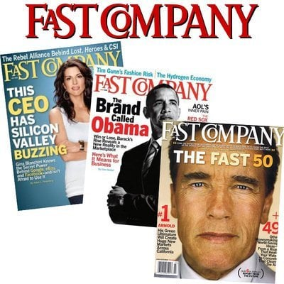 Fast Company Magazine – $3.99 For One Year Subscription