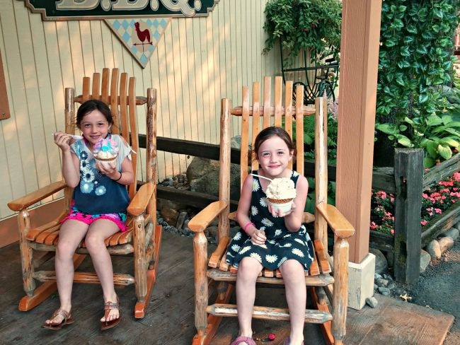 Ice Cream at Silverwood