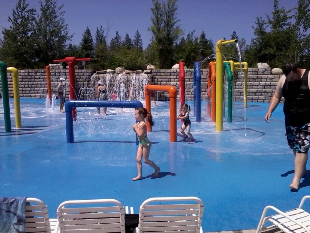 Boulder Beach water park in Idaho