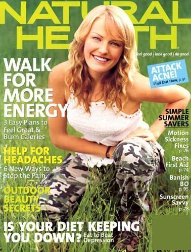 Natural Health Magazine – $3.99 for a One Year Subscription