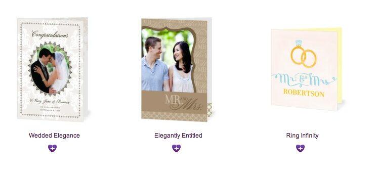 Treat.com – Free Wedding or Engagement Congratulations Card