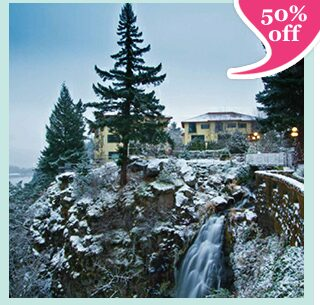 Columbia Cliff Villas – 2 Night Stay & Wine Tasting Tour Tickets for 2 for $215 – Winter Escape!