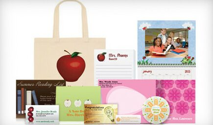 Vistaprint – $80 Voucher for just $20 – Great for personalized Back to School Items, Teacher Gifts & more!