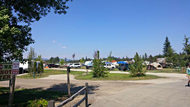 Silverwood camping