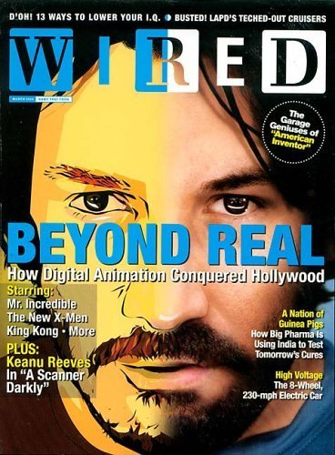 Wired Magazine – $4.50 Year Subscription