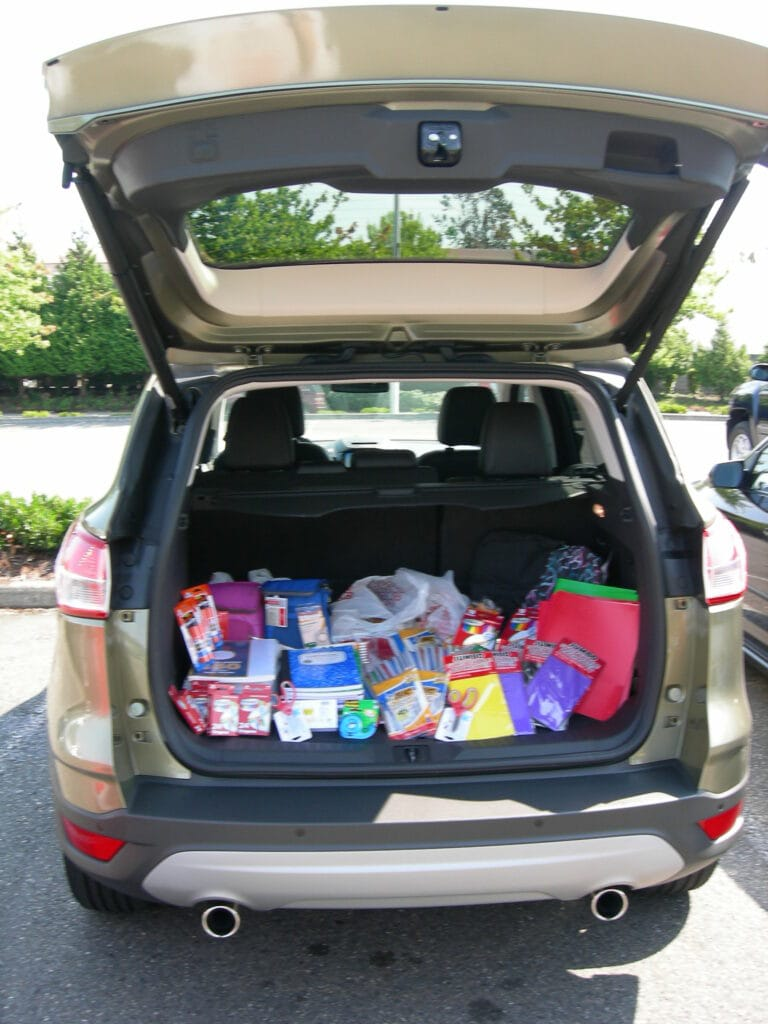 Ford Donates School Supplies To Local Kids & Lets Us Preview The New 2013 Escape!