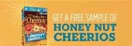 Free Sample of Honey Nut Cheerios (new link)