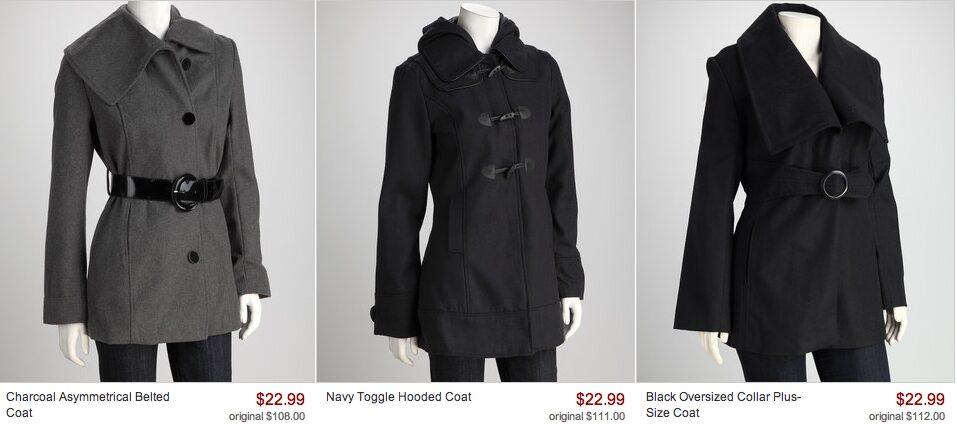 Women's Coats for Fall & Winter – $22.99 (regularly around $100)
