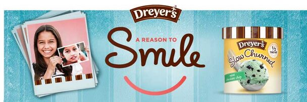 Free Cup of Dreyer's Slow Churned Light Ice Cream