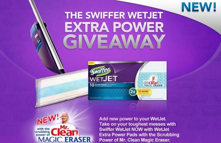 Free Swiffer Wet Jet Extra Power Pads