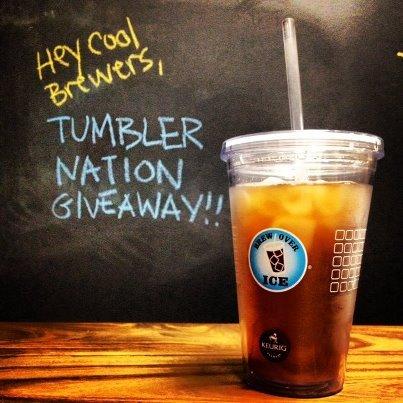 FREE Brew Over Ice Tumbler (Keurig Owners)