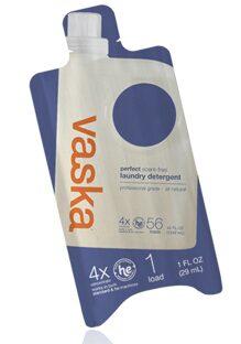 Free Sample Of Vaska Scent-Free Laundry Detergent