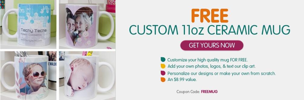 Ink Garden – Free Custom Mug (Just Pay Shipping)