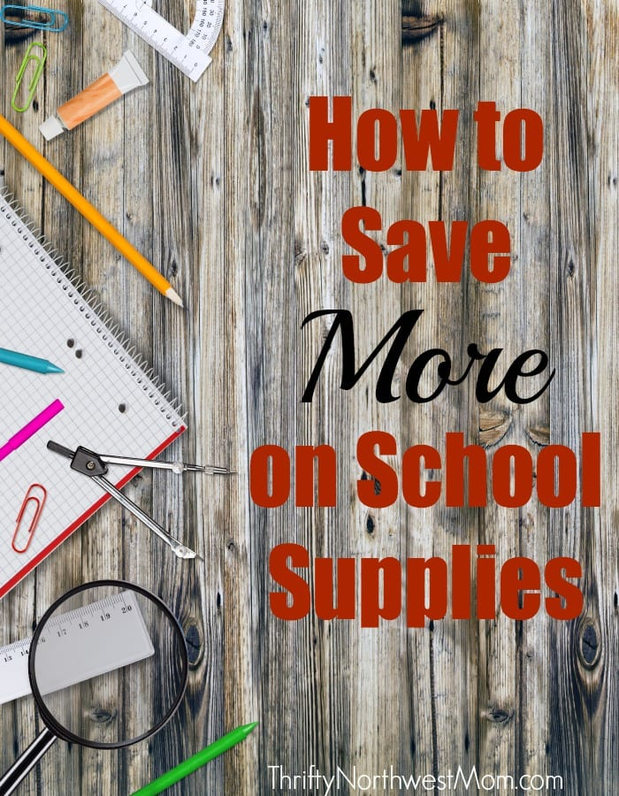 Back to School Shopping on a Budget