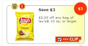 $3 Off Lays Potato Chips At Winco (Update)
