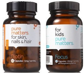 Pure Matters – FREE Full Size Bottle of Vitamins!