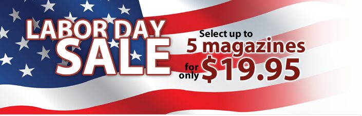 Discount Mags 4th of July Blowout Sale on Magazine Subscriptions!